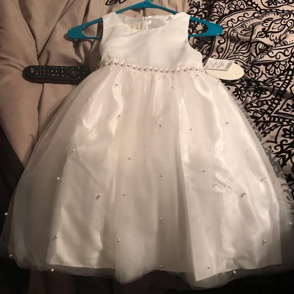 2afd5b6caf3 Flower girl Easter dress. NWT. burlington coat factory